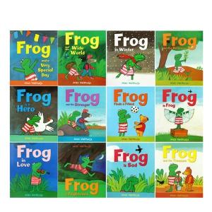 英文原版 Frog is Frog 青蛙弗洛格的成長故事 (全12本套裝)兒童睡前故事心理成長繪本