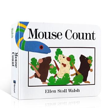 英文原版繪本 Mouse Count 老鼠數數 吳敏蘭書單推薦繪本123  少兒兒童啟蒙繪本 紙板書