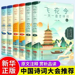 古典浪漫诗词中国传统文化 经典国学启蒙书籍 枕上诗书 写给儿童的中国历史传统文化读物故事书飞花令